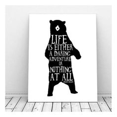 Life is a Daring Adventure Print Inspirational by CallMeArtsy
