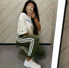 Cute affordable fashion at Stafford & Co. shop now at Stafford-Co.mysho to g Baddie Outfits Affordable Cute Fashion shop Stafford StaffordComysho Sweatpants Outfit, Legging Outfits, Sporty Outfits, Trendy Outfits, Cool Outfits, Airport Outfits, Adidas Sweatpants, Night Outfits, Outfit Online
