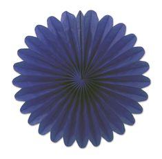 Mini Tissue Fans, blue (72ct)