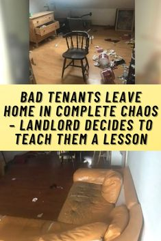 When you live month-to-month in a home, you have an obligation to pay rent and abide by your landlord's rules. It isn't a hard concept. You would hope that most people would be able to do that but unfortunately, there are always people out there who make life for their landlord's a little more difficult.