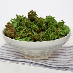 Scrummy Kale Chips recipe!