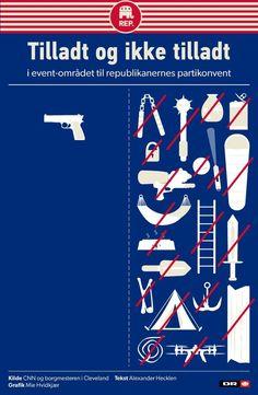 Tjekliste inden konvent: Tennisbolde, vandpistoler og paraplyer forbudt – men skydevåben er helt okay | Nyheder | DR