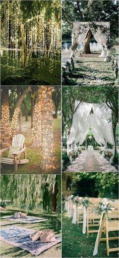 garden themed outdoor wedding decorations #gardenwedding #weddingdecor #weddingideas #weddinginspiration #weddingdecoration