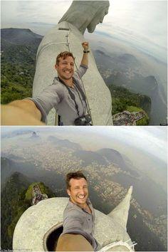 extreme selfie