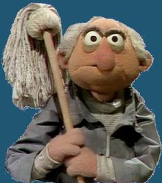 George The Janitor. George The Janitor is the crotchety old custodian of the Muppet Theater whose most prominent appearances were on the first season of The Muppet Show.