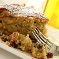 Κέικ μήλου Greek Desserts, Greek Recipes, Greek Cake, Apple Deserts, Different Recipes, Cake Cookies, Cupcakes, Food To Make, Sweet Treats