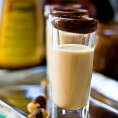 Gianduia (Chocolate-Hazelnut) Shot or (Nutella embodied in a shot)