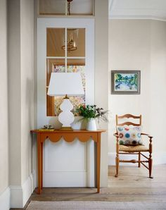 Narrow Rooms, Victorian Townhouse, Timber Panelling, London House, Floor To Ceiling Windows, Built In Wardrobe, Create Space, Painted Paper, Home Interior Design