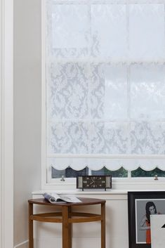 Custom Roller Shades ~ The Tayler Damask Curtains, Home Curtains, Curtains With Blinds, Rolling Shades, Window Roller Shades, Bedroom Images, Thing 1, Window Design, Modern Luxury