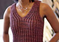 Knit Brioche Bodice by Katy Ryan- 5 free brioche knitting patterns