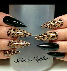 101 Cool Acrylic Nail Art Designs and Ideas to carry your Attitude Cheetah Nail Designs, Leopard Print Nails, Leopard Prints, Pink Cheetah Nails, Cheetah Makeup, Leopard Nail Art, Leopard Cat, Cat Makeup, Stiletto Nail Art