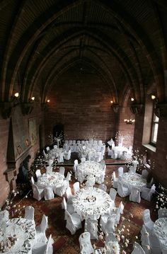 A WEDDING STEEPED IN ROMANCE... As you pass through the magnificent gatehouse and sweep up the long drive, it becomes apparent how Peckforton Castle can make the most important day of your life even more special. This breathtaking Cheshire castle and its grounds, with a private chapel, marble floors, vaulted dining rooms and the open fires make it the idyllic venue for the most magic day of your life.