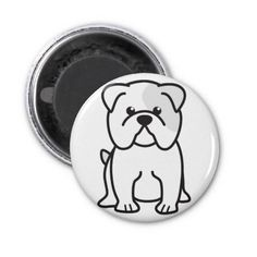 Give your refrigerator a personal touch with personalized Bulldog magnets from Zazzle! Shop from monogram, quote to photo magnets, or create your own magnet today!