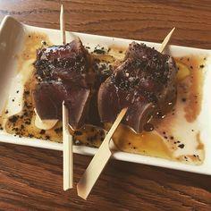 El tataki de atún de @albertochicote me ha dejado sin palabras.  #yakitoro #tataki #Madrid #chicote #gourmet #pornfood by gourmetlikeme