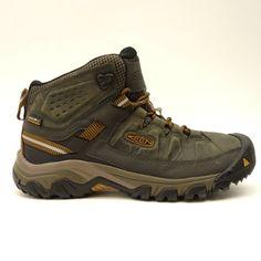 ce7442220eea New Keen Mens Targhee III Mid Waterproof Leather Hiking Trail Boots US 8 EU  40.5