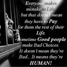 Everyone makes mistakes in life, but that doesn't mean they have to pay for them the rest of their life. Sometimes good people make bad choices. It doesn't mean they're bad . It means they're human. People Make Mistakes, Everyone Makes Mistakes, Making Mistakes, Encouragement Quotes, Wisdom Quotes, Me Quotes, Godly Quotes, Motivational Poems, Inspirational Quotes