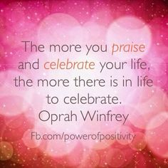 Quotes and inspiration from Celebrity QUOTATION – Image : As the quote says – Description #oprah #quote #gratitude Sharing is everything – We, at Quotes Daily, we think that sharing is everything, so don't forget to share this quote with those Who Matter !