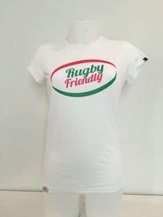 T-shirt #RugbyFriendly classic