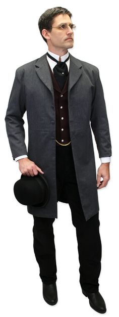Vigilante Pants + Tall Coat :: whole crew should hit the bars in 1890's clothing & act like we're not lmao
