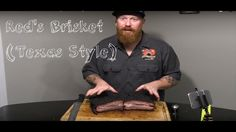 "Brisket - The Cook and Taste (Yoder ""Fully Loaded"" Wichita Smoker) Reds Bbq, Bbq Food, Brisket, Family Meals, Food Videos, Barbecue, Grilling, Texas, Cooking"