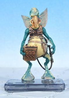 "Star Wars Ep1 WATTO 3.75"" Action Figure TPM Hasbro 2008 #Hasbro"