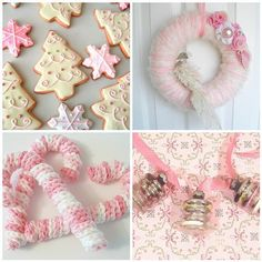 Glamorous Pastel Décor Ideas to Brighten Up Your Christmas_022