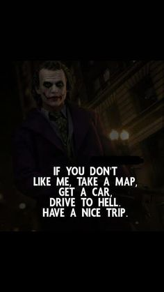 Joker Quotes From All The Movie - Quotes Swag Quotes, Boy Quotes, Words Quotes, Life Quotes, Citations Swag, Citations Jokers, Quotes About Attitude, Joker Qoutes, Best Joker Quotes