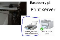Picture of Raspberry Pi Print Server