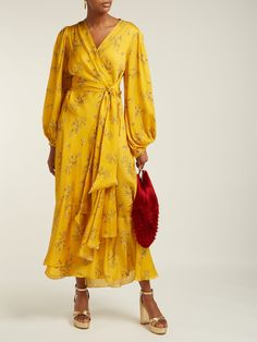 Silk Dress, Wrap Dress, Red Accessories, Silk Wrap, Satin Slip, Dress Hats, Barbie Dress, Spring Dresses, Pattern Fashion