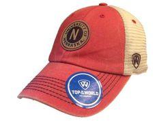 Nebraska Cornhuskers TOW Red Outlander Mesh Adjustable Snapback Slouch Hat Cap