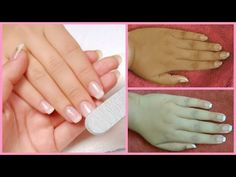 salon style manicure at home/how to do manicure at home in hindi - routine How To Do Manicure, Manicure Steps, Beauty Routine Planner, Morning Beauty Routine, Pedicure At Home, Makeup Step By Step, Clean Nails, Salon Style, Perfect Nails