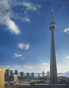 Snapping a photo of the breathtaking view of Lake Ontario & the CN Tower is an absolute must when staying at The Ritz-Carlton, Toronto.