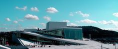 Great picture of Opera in Oslo Great architecture
