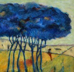Fantasy Trees #4, Gerard Van Velzen 60x60