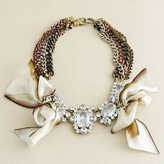 jcrew. the perfect statement necklace. #jewelry