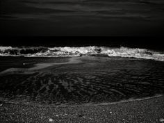 Dark Waves black and white multiple sizes Florida by WinchesterRed, $10.00