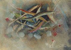 Detritus Series 2 Watercolour