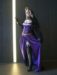 Liliana of the Veil - Aranel Cosplay #mtg #cosplay #magicthegathering #geek
