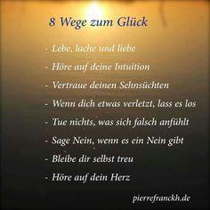 8 Wege zum Glück...