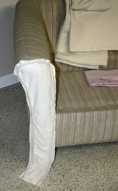 A Summer Gypsy Sews: Slipcover Tips 2: Fitting the Arm