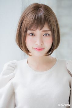 【joemi 新宿】大人モダンなショートスタイル (小倉太郎) | GARDEN HAIR CATALOG | 原宿 表参道 銀座 美容室 ヘアサロン ガーデン Japanese Short Hair, Korean Short Hair, Short Hair Bun, Cute Girls Hairstyles, Bun Hairstyles, Hair Arrange, Hair Reference, Shoulder Length Hair, Great Hair