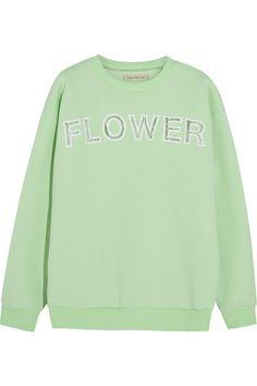 Shop now: Christopher Kane 'Flower' Sweatshirt