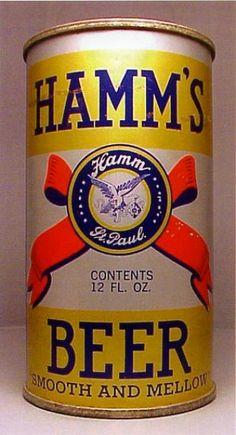 Hamms Beer Can