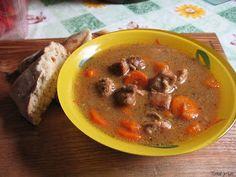 Tomek gotuje: Gulasz wieprzowy z szynki Thai Red Curry, Beef, Ethnic Recipes, Food, Meal, Essen, Hoods, Ox, Meals