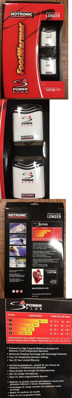Hand and Foot Warmers 159183: Hotronic Beating System Footwarmer S4 Custom New -> BUY IT NOW ONLY: $179.99 on eBay!