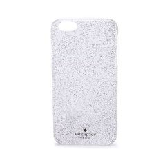 Kate Spade New York Glitter iPhone 6 Plus Case ($44) ❤ liked on Polyvore featuring accessories, tech accessories, multi, apple iphone cases, kate spade, iphone cover case, glitter iphone case and iphone cases