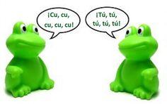 """En el """"meeting"""" de la Humanidad millones de hombres gritan lo mismo: ¡Yo, yo, yo, yo, yo, yo!... ¡Yo, yo, yo, yo, yo, yo!... La rana es mejor ¡Cu, cu, cu, cu, cu! Sólo los que aman saben decir ¡Tú! // Jacinto Benavente http://www.lamagiadelasrelaciones.com/"""