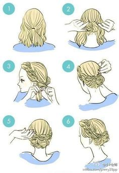 It can be really tough to make your hair look its best. Many things can make it difficult to maintain healthy locks, including weather and hair care products. This article offers several easy ways to protect and improve your hair. Don't brush your hair. Pretty Hairstyles, Braided Hairstyles, Simple Hairstyles, Wedding Hairstyles, Everyday Hairstyles, Hairstyles 2018, Hairdos, Easy Morning Hairstyles, Perfect Hairstyle