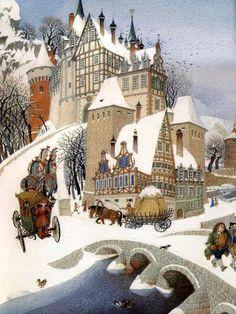 Russian artist Gennady Spirin (1948- )