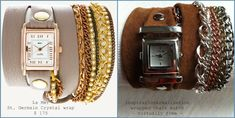 inspiration and realisation: DIY fashion blog: DIY wrapped watch
